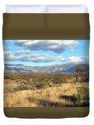 Rincon Valley Winter Duvet Cover