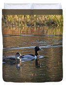 Ring Necked Duck Duvet Cover