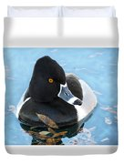 Ring-necked Duck Duvet Cover