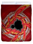 Ring Of Feathers - Abstract Duvet Cover