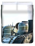 Ring That Bell Engine 26 Steamtown National Historical Site Duvet Cover