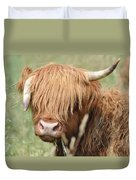 Ringo - Highland Cow Duvet Cover