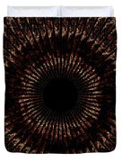 Rings Of Fire Duvet Cover