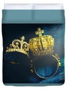 Rings Of Nobility Duvet Cover