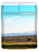 Rio Grande Flood Plain Duvet Cover