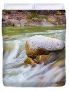 Rio Grande Rocky Flow Duvet Cover