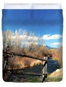 Rio Pueblo Duvet Cover