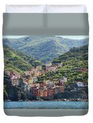 Riomaggiore 0576 Crop Duvet Cover
