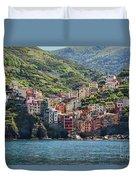 Riomaggiore 0577 Duvet Cover