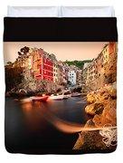 Riomaggiore Cinque Terre Duvet Cover