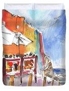 Riomaggiore In Italy 03 Duvet Cover