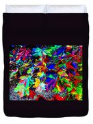 Riot Of Color Duvet Cover