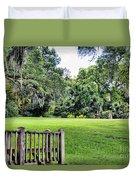 Rip Van Winkle Gardens Louisiana  Duvet Cover