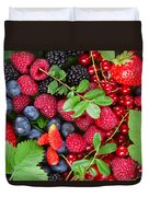 Ripe Of  Fresh Berries Duvet Cover