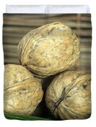Ripe Walnuts Duvet Cover by Deyan Georgiev