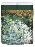 Ripple Pond Duvet Cover