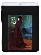 Ripple-ronai: Woman, 1892 Duvet Cover