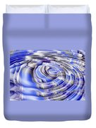 Ripples And Reflections Duvet Cover
