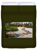 Ripples And Serenity Duvet Cover