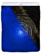 Ripples Of Time And Space Duvet Cover