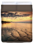 Ripples On The Coast Duvet Cover