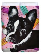 Popsicle Pup Duvet Cover