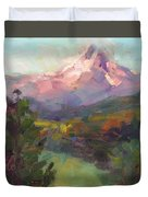 Rise And Shine Duvet Cover by Talya Johnson