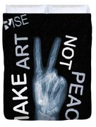Rise Peace Duvet Cover