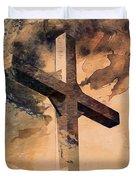 Risen  Duvet Cover by Aaron Berg