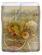 Rising Spring - Fractal Art Duvet Cover