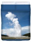 Rising Steam Duvet Cover