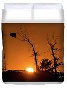 Rising Sun Duvet Cover