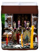 Risning Incense Prayers Duvet Cover