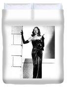 Rita Hayworth Duvet Cover