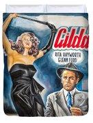 Rita Hayworth Gilda 1946 Duvet Cover