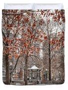 Rittenhouse Snowscape Duvet Cover
