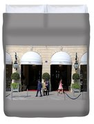Ritz Hotel Paris Duvet Cover