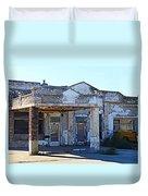 Ritzville Ruins Duvet Cover