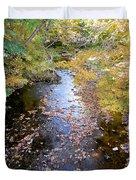 River 3 Duvet Cover