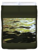 River Abstract Duvet Cover