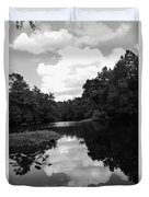 River And Clouds 2 Duvet Cover