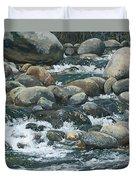 River At Sierra Subs Duvet Cover