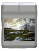 River Aux Sables, Ontario, May 2015 Duvet Cover