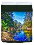 River Bend View Duvet Cover