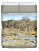 River Bottom Duvet Cover