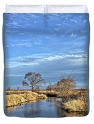 River Duck Morning 2 Duvet Cover