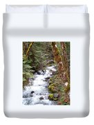 River For Your Thoughts Duvet Cover
