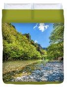 River In Kleidonia Zagora Duvet Cover