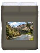 River In Shoshone Duvet Cover