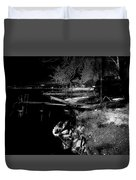 River In The Night... Duvet Cover